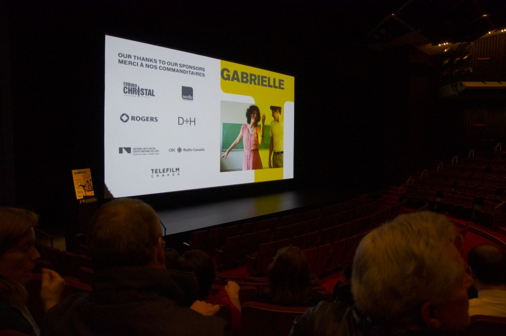 Louise Archambault's ''Gabrielle'' has been selected as Canada's candidate in the best foreign film category at the Oscars.