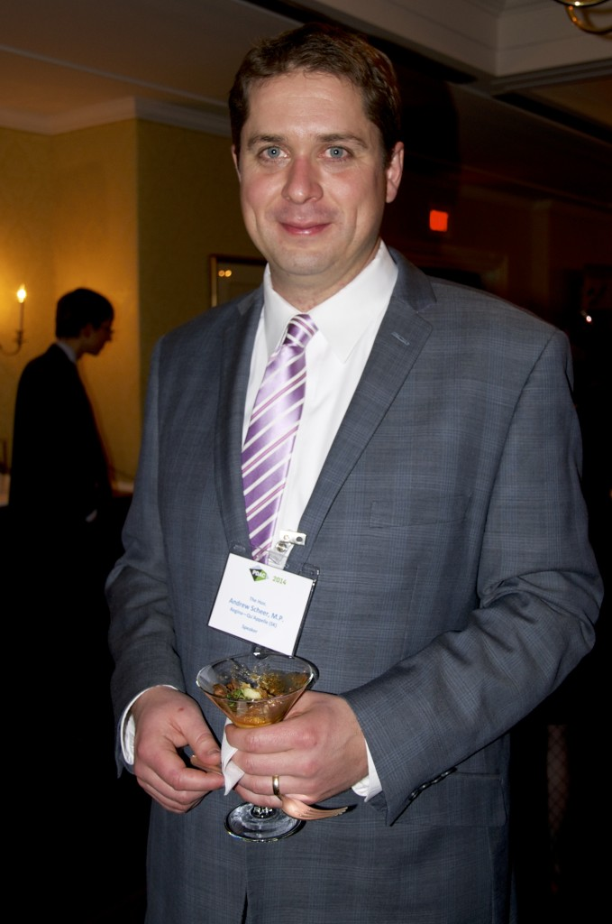Current Speaker of The House of Commons, Andrew Scheer takes a few minutes out of his busy schedule to pose for the camera