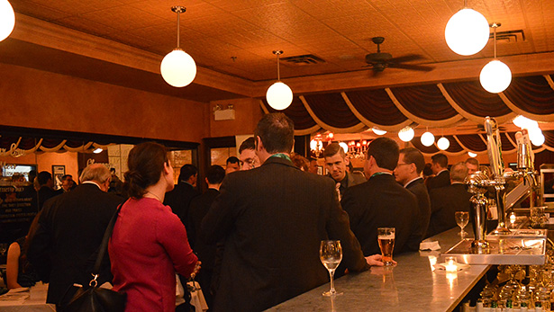 The Metropolitan Brasserie was filled with parliamentarians and lobbyists representing a variety of groups on April 19.